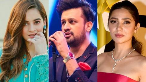 Mahira Khan, Atif Aslam and Aiman Khan are some of Forbes Asia's most influential digital stars