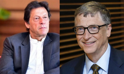 PM discusses Covid situation with Bill Gates