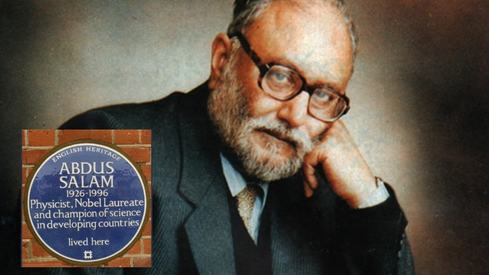 Dr Abdus Salam's residence in Britain is now a national heritage site
