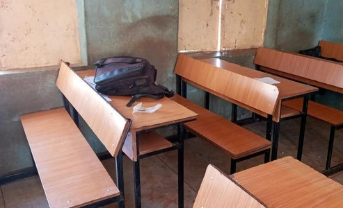 Parents pray for hundreds of students kidnapped from Nigerian school