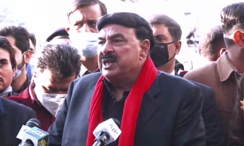 'Who do you want to speak to if not PM Imran?': Sheikh Rashid lashes out at opposition