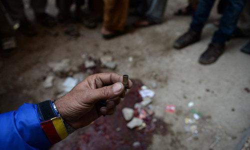 Murder suspect critically injured after being shot inside Karachi court