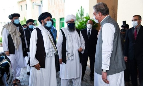 Taliban team due in Islamabad today