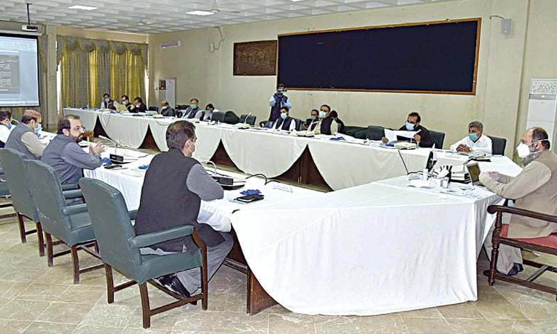 Development projects of education, health sectors in Balochistan reviewed