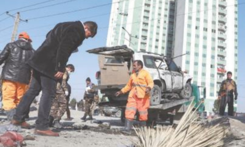 Bomb attack kills deputy governor, three others in Afghanistan