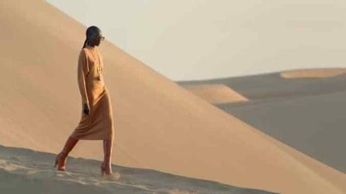 Saint Laurent's fashion show takes place at a mysterious desert