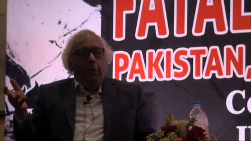 Fatal Faultlines: Irfan Husain launches book