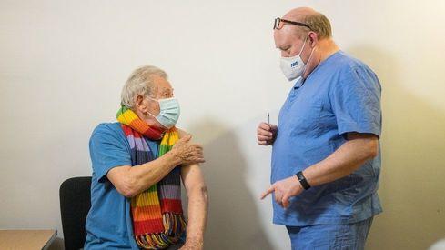 UK actor Ian McKellen receives Covid-19 vaccine; Beatles legend Paul McCartney to follow