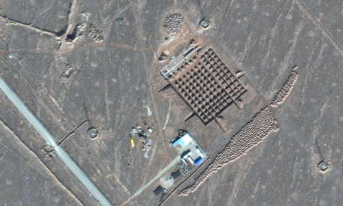 Iran builds at underground nuclear facility amid US tensions