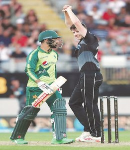 Debutant Duffy stars as NZ draw first blood in Pakistan T20 series