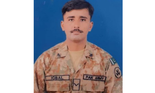 Soldier martyred in Awaran operation