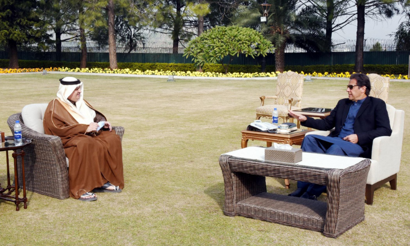 Pakistan, Saudi Arabia reaffirm resolve to cement bilateral ties