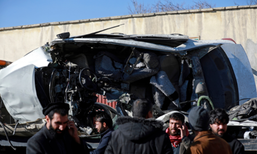 Prison doctors among 5 killed in Kabul bombing