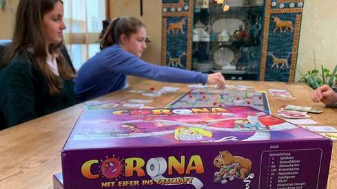 You can now play a board game inspired by coronavirus