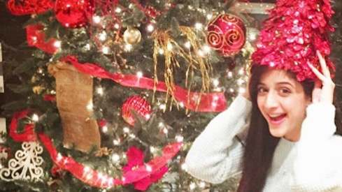 Your favourite celebs are celebrating Christmas a little differently this year