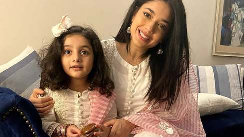 Sanam Jung and her daughter have recovered from coronavirus