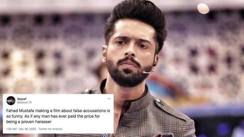 People call out Fahad Mustafa for terming Dunk 'a tribute to victims of false allegations'