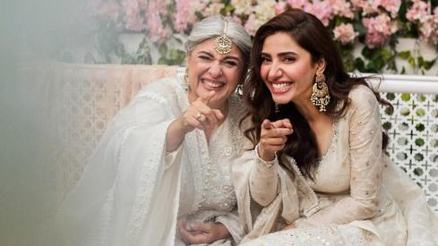 Mahira Khan and Marina Khan's message this wedding season has our hearts
