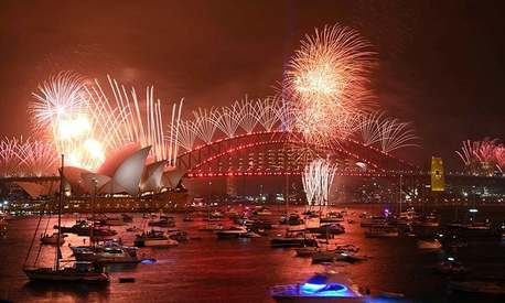 Stay safe and watch the famous New Year's Eve fireworks from home, Sydney tells people