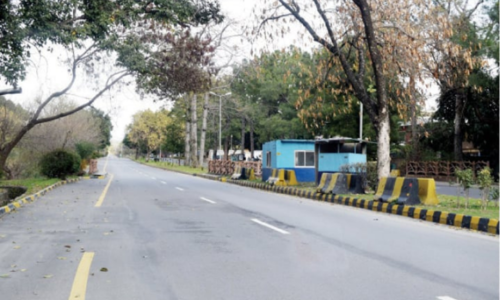 Margalla Road encroachment issue to be resolved in six months, cabinet told