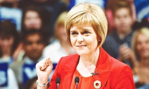 Scottish leader tells EU 'we hope to join you again'