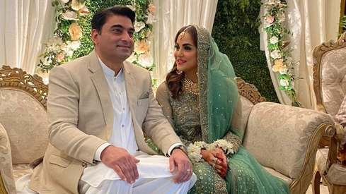 TV host and producer Nadia Khan has tied the knot