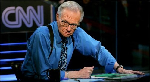 Talk show host Larry King in hospital with Covid-19 for more than a week