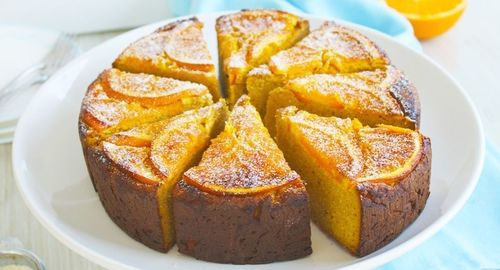 A no-fuss recipe to help you savour the joy of a simple orange-almond cake