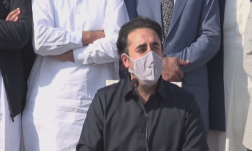 'PDM has asked for democracy, not relief,' says Bilawal