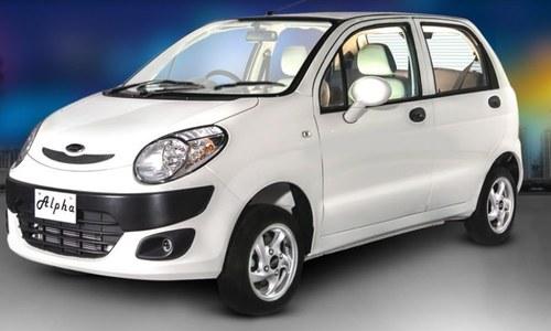 سوزوکی ویگن آر کے مقابلے میں نئی ایک ہزار سی سی پاکستانی گاڑی متعارف