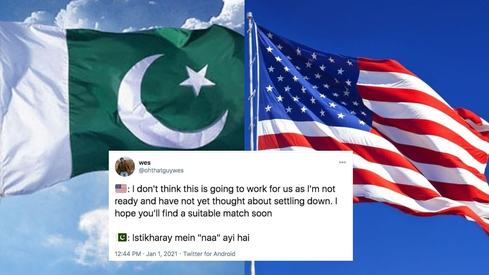 PAK vs US: Desi Twitter is not holding back in its ruthless, hilarious comparisons