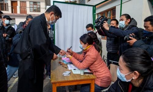 Tibetans in exile vote in India for political leader