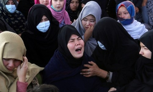 Thousands mourn Hazara coal miners killed in Balochistan attack