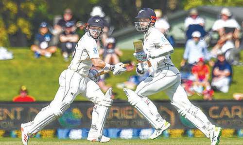 Williamson, Nicholls swing momentum in New Zealand's favour