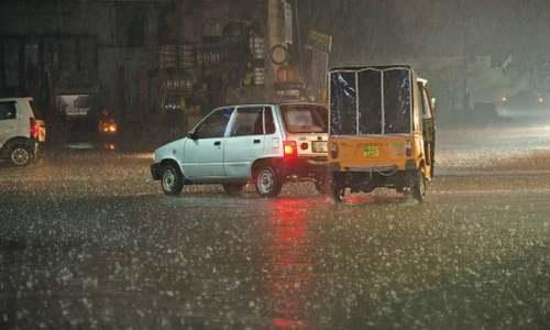 Heavy rainfall cools down Punjab