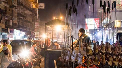 Karachi's Burns Road will now be a food street for pedestrians to enjoy