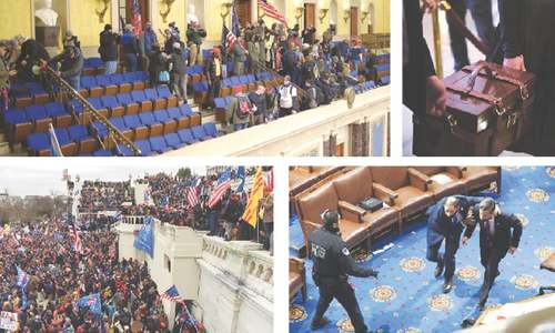 Washington sees 'coup' as Trump supporters storm Capitol