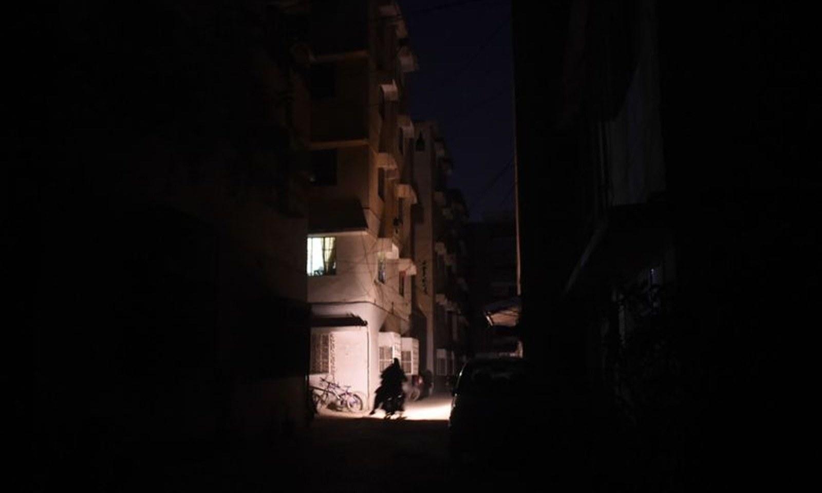 پاکستان بھر میں بجلی کا بریک ڈاؤن