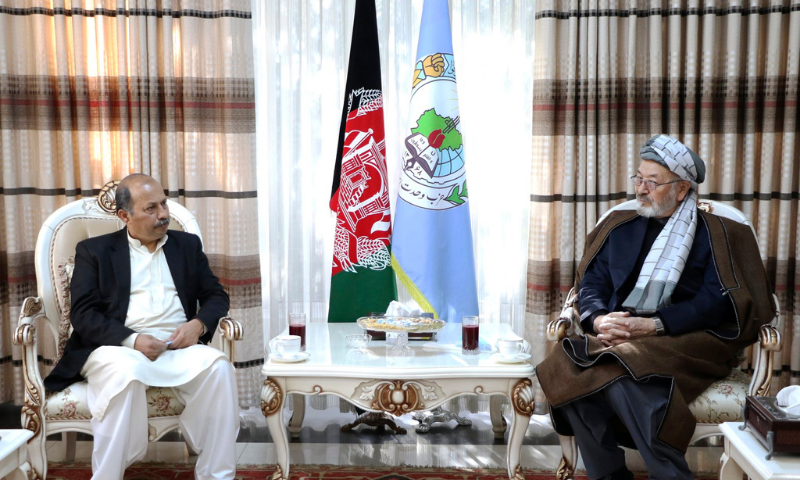 Senior Afghan politician to arrive in Pakistan today for three-day visit