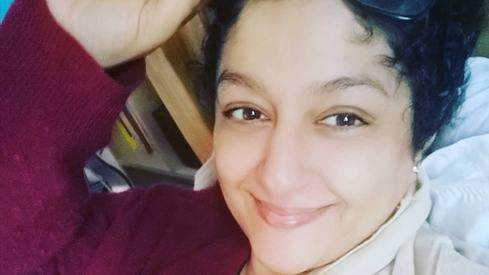 Nadia Jamil shares the joy of having her hair grow back after fighting breast cancer
