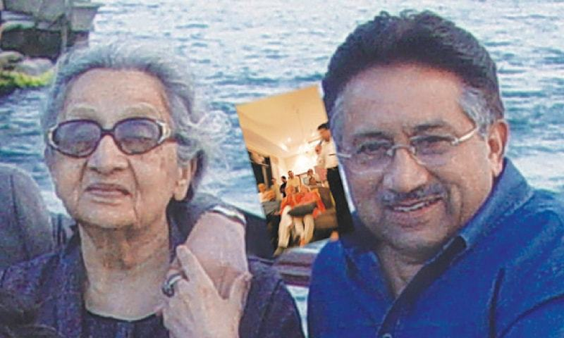 Musharraf's mother passes away in UAE