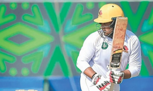 Ton-up Sharjeel powers Sindh to the top