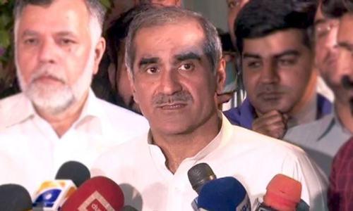 پی ڈی ایم کا مقصد ایک حکومت کو گراکر اپنی حکومت بنانا نہیں، سعد رفیق