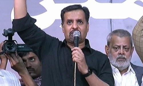 حکمرانوں اگر صحیح طرح گن نہیں سکتے تو کراچی خاموش نہیں رہے گا، مصطفیٰ کمال