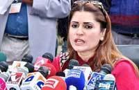 Shazia lambasts Shibli, says he's hiding govt's 'failures'