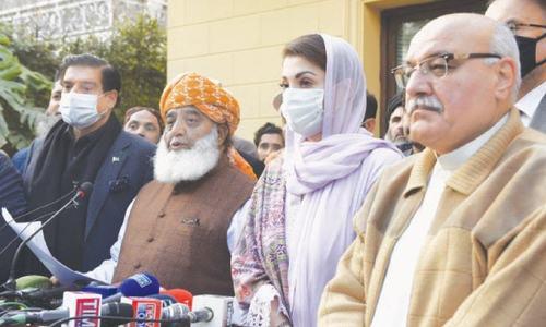 پی ڈی ایم کے احتجاج سے قبل اسلام آباد کے سیاسی ماحول میں تناؤ