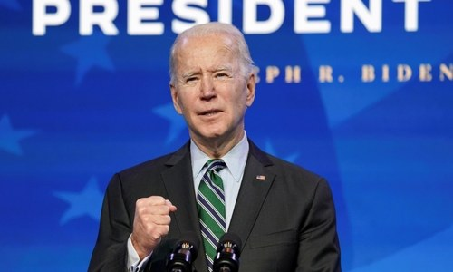 The 46th US president: Joe Biden