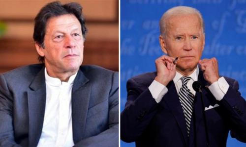 وزیر اعظم عمران خان کی جو بائیڈن کو امریکی صدر کا عہدہ سنبھالنے پر مبارکباد