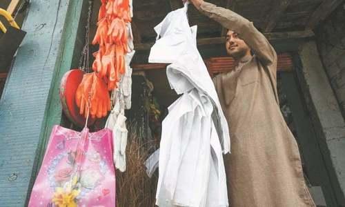 8,000kg plastic bags seized in Peshawar