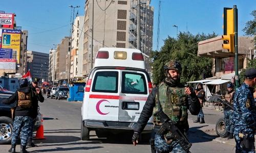 Twin suicide blasts in Baghdad leave 32 dead, 110 wounded
